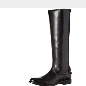 Frye Melissa Button Zipper Equestrian Riding Boots